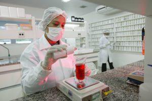 farmácia de manipulação laboratório